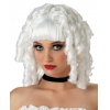 Wig Ghost White Doll